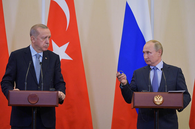 turkey hits back at russia over idlib claims