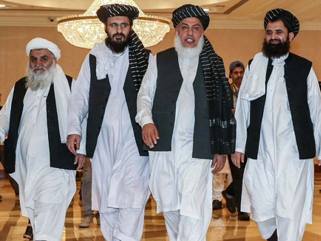 Expert says path of negotiations has been chosen as it is impossible to eliminate Taliban. PHOTO: AFP/FILE