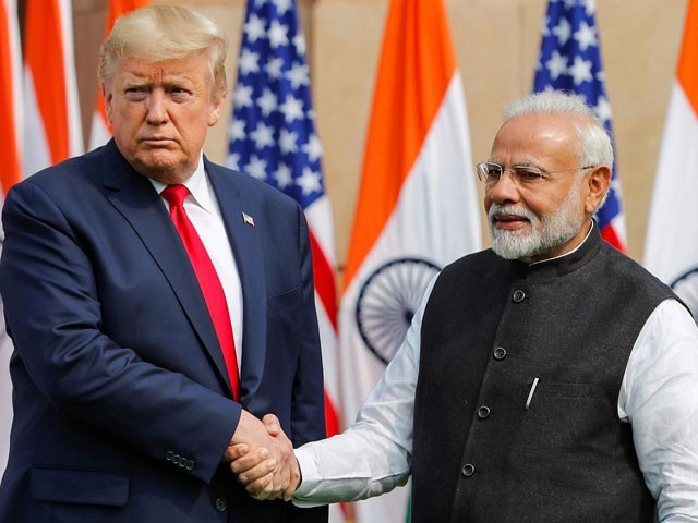 Trump 'optimistic' about trade deal with India