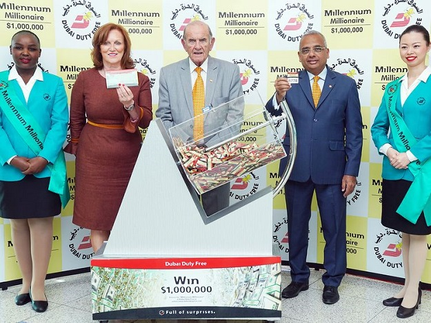 Dubai Duty Free draw was held on Tuesday, February 18. PHOTO COURTESY: GULF NEWS