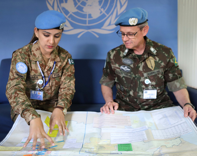 An honour for women peacekeepers to work under UN flag, wear blue ...