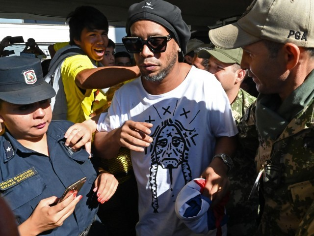 Brazil legend Ronaldinho arrested in Paraguay for alleged use of fake passport