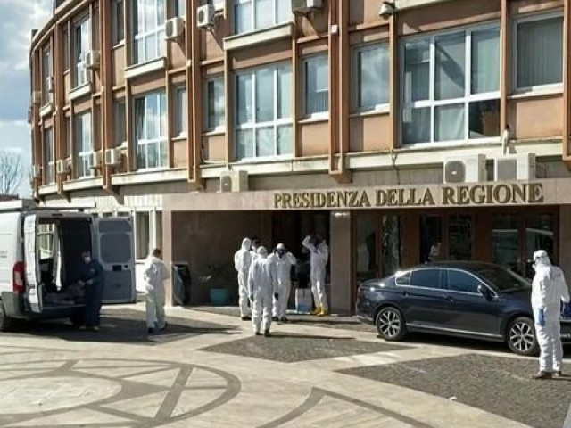 Coronavirus Pendemic: Brother Trapped With Sister's Body, in Italy