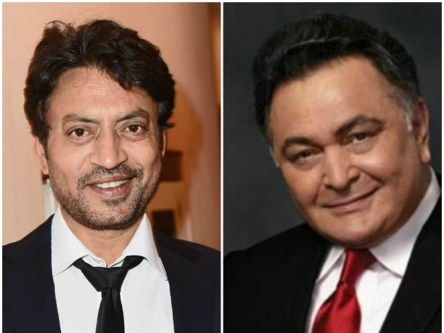 Throwback: The only time Rishi Kapoor and Irrfan Khan worked ...