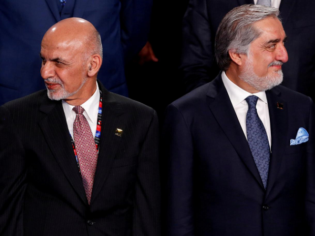 Ashraf Ghani (L) and Abdullah Abdullah (R)- PHOTO: REUTERS/FILE