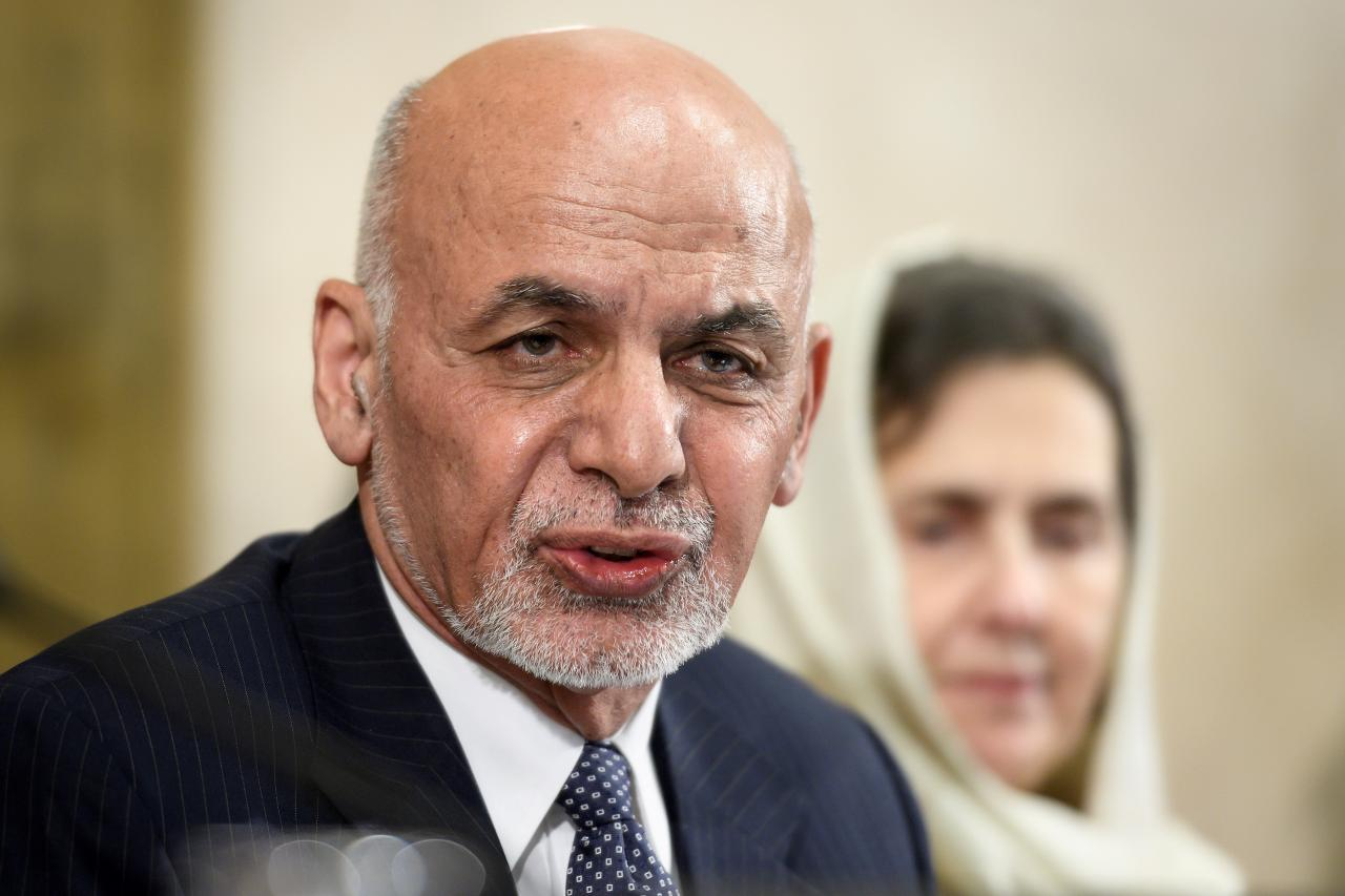 Afghanistan's President Ashraf Ghani PHOTO: REUTERS/FILE