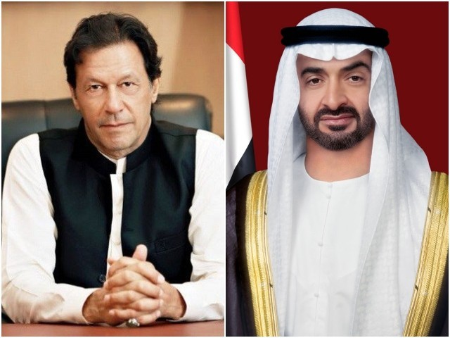 PM Imran, Abu Dhabi crown prince discuss Covid-19 pandemic, debt relief | The Express Tribune