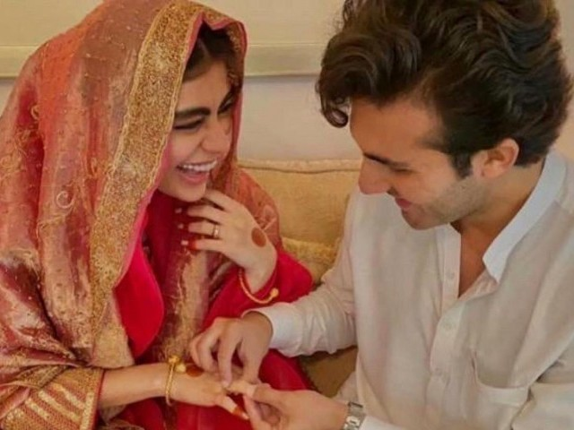 Sadaf Kanwal, Shahroz Sabzwari tie the knot in simple nikkah ceremony