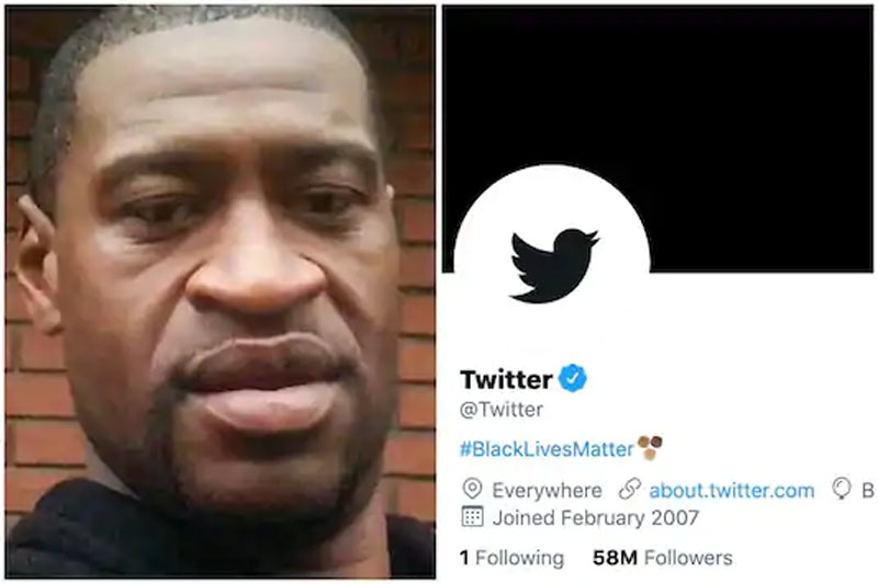 Twitter Changes Display Pic Bio To Blacklivesmatter To Protest George Floyd S Killing The Express Tribune